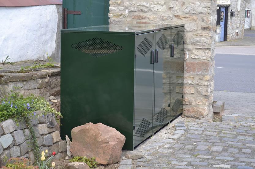 Boxen für Ihre Müllbehälter